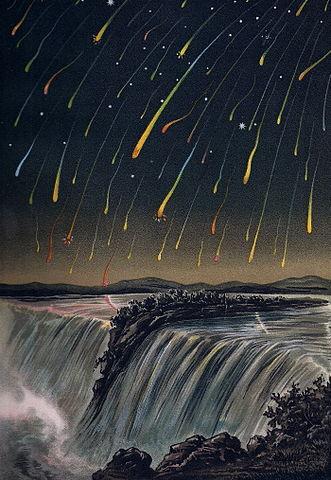 Leoniderna över Niagara