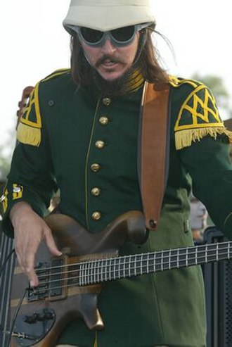 Les Claypool - Claypool at Bonnaroo in 2002