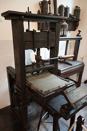 Print design - Letterpress from the earliest days of printing