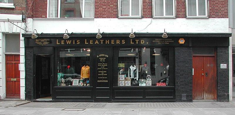 File:Lewis Leathers shop.jpg