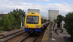 Gospel Oak to Barking line - Image: Leytonstone High Road railway station MMB 11 172005