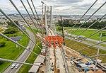 Linha que liga SP a Aeroporto de Guarulhos tem viadutos concluídos (25175117367).jpg