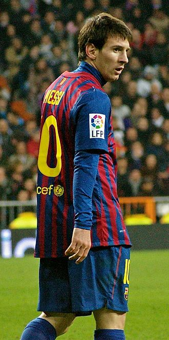 FIFPro - Image: Lionel Messi at Bernabeu
