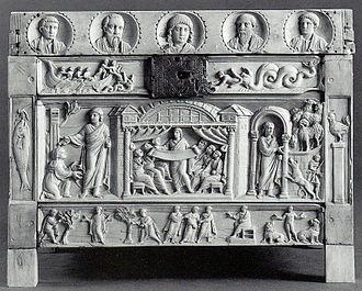 Brescia Casket - Image: Lipsanoteca di Brescia (fronte)