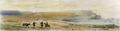 Lisle-Vista general de Arica y sus alrededores después del asalto de los chilenos.png