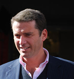 Serbian Australians - Image: Listening Karl Stefanovic Ch 9 Today Show, Bourke Street Mall Flickr avlxyz (cropped)