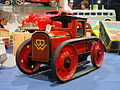 Litho tin toy BW tractor pic3.JPG