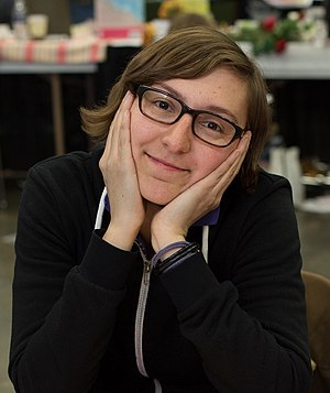 Liz Prince - Liz Prince at the Stumptown Comics Festival, 2013