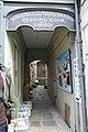Llandeilo Literary Institute and Reading Room passageway from Rhosmaen Street.jpg