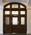 Lobby, Post Office door. U.S. Custom House, East Bay and Bull Streets, Savannah, Georgia LCCN2014630118.tif