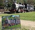 Locomotora en estacion jardin botanico - panoramio.jpg