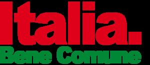 Italy. Common Good - Image: Logo Italia. Bene Comune