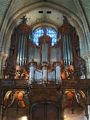 Angers Cathedral - The Grand Organ