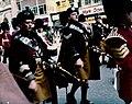 London parade 9 July 1974 - Bagpipers.jpg