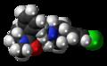 Loperamide 3D spacefill.png