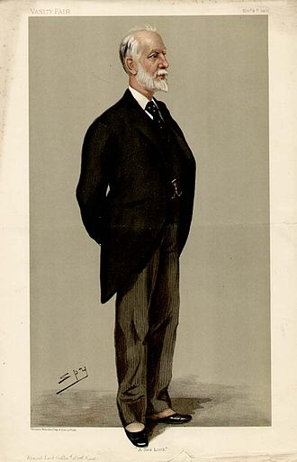 Lord Walter Kerr - Kerr caricatured by Spy for Vanity Fair, 1900