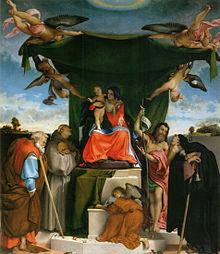 Lotto, Pala di San Bernardino (1521)