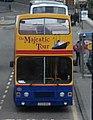 Lothian Buses open top tour bus Leyland Olympian Alexander RH E325 MSG Majestic Tour livery, 17 June 2007.jpg