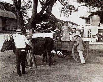 J. Roy Hunt - J. Roy Hunt filming Love's Redemption (1921)