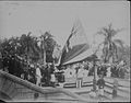 Lowering the Hawaiian flag at Annexation ceremony (PP-35-8-007).jpg
