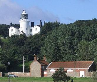 Lowestoft Lighthouse Lowestoft Denes lighthouse - geograph.org.uk - 229057.jpg