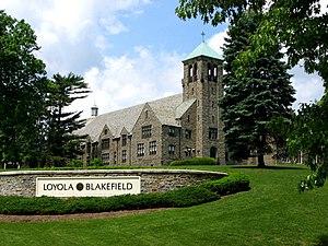 Loyola Blakefield - Image: Loyola wheeler lawn 2