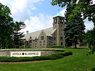 Loyola Blakefield Private roman catholic non-profit all-boys secondary education institution school in Chestnut Avenue Towson, Baltimore County, Maryland, United States