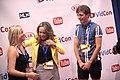 Lucas Cruikshank & Jennifer Veal with supporter (14538139263).jpg