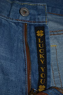 8cd148b17ab8a5 Lucky You! Logo. Lucky Brand Jeans