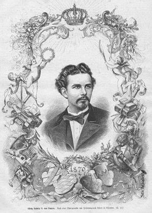 Kaiserbrief - Ludwig II, 1870