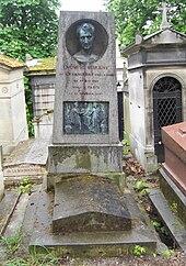 Ludwig Börnes Grab (Quelle: Wikimedia)