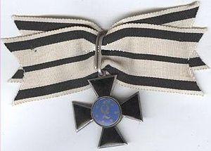 Order of Louise - Image: Luisen Orden I Kl obv