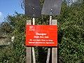"Lullington Heath - English Nature ""fire risk"" notice - geograph.org.uk - 1167250.jpg"
