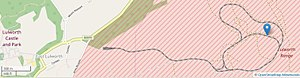 Lulworth Ranges - Track of moving targetry system