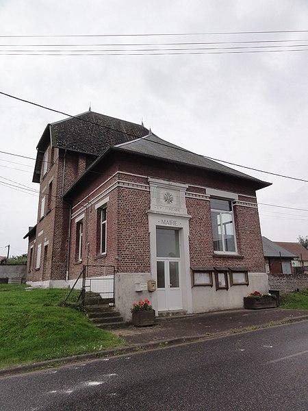 Ly-Fontaine (Aisne) mairie