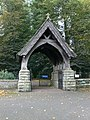 Lych Gate, Brecon Cathedral - geograph.org.uk - 564821.jpg