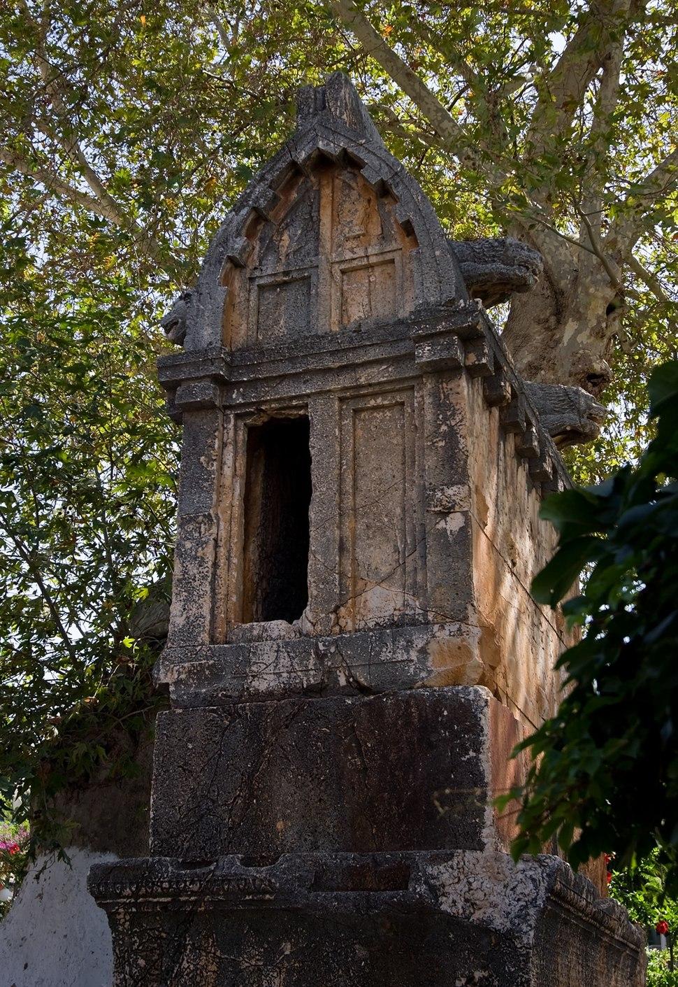 Lycian tomb Kas IMGP8941