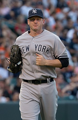 Lyle Overbay - Overbay with the New York Yankees