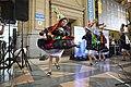 Música del altiplano en la estación de trenes de Constitución (15670522712).jpg