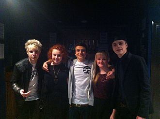 M.A.D (band) - M.A.D with fans in Birmingham