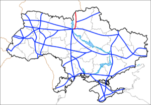 Highway M01 (Ukraine) - Image: M1 (Ukraine)