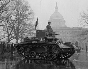M2 light tank - Image: M2A3 light tank 1939 LOC hec 26434