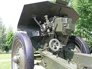 122 mm howitzer M1938 (M-30) - M-30 in Nizhny Novgorod, Russia.