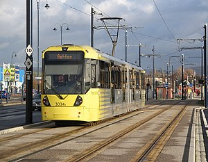 Transport in the United Kingdom - The Manchester Metrolink is the largest light rail system in the UK.