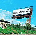 MEAT IS IMMORAL billboard (Los Angeles 2020).jpg
