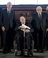 MSC 2014 Seehofer-GiscardDEstaing-Schmidt-Kissinger-Ischinger2 Mueller MSC2014 (cropped).jpg