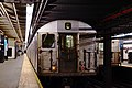 MTA NYC Subway C train at 168th St..JPG