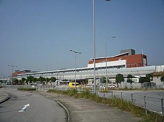 Kam Sheung Road station - Exterior of Kam Sheung Road Station