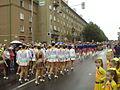 Mažoretky na křižovatce Hlavní třídy a ulice Gorkého (Havířov v květech 2009).jpg