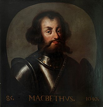 Macbeth, King of Scotland - Macbeth, as depicted by Jacob de Wet II c. 1680